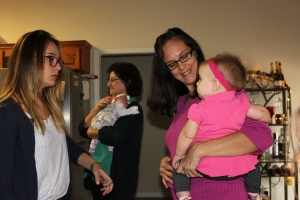 I love this picture because several of us girls and the babies are in it.